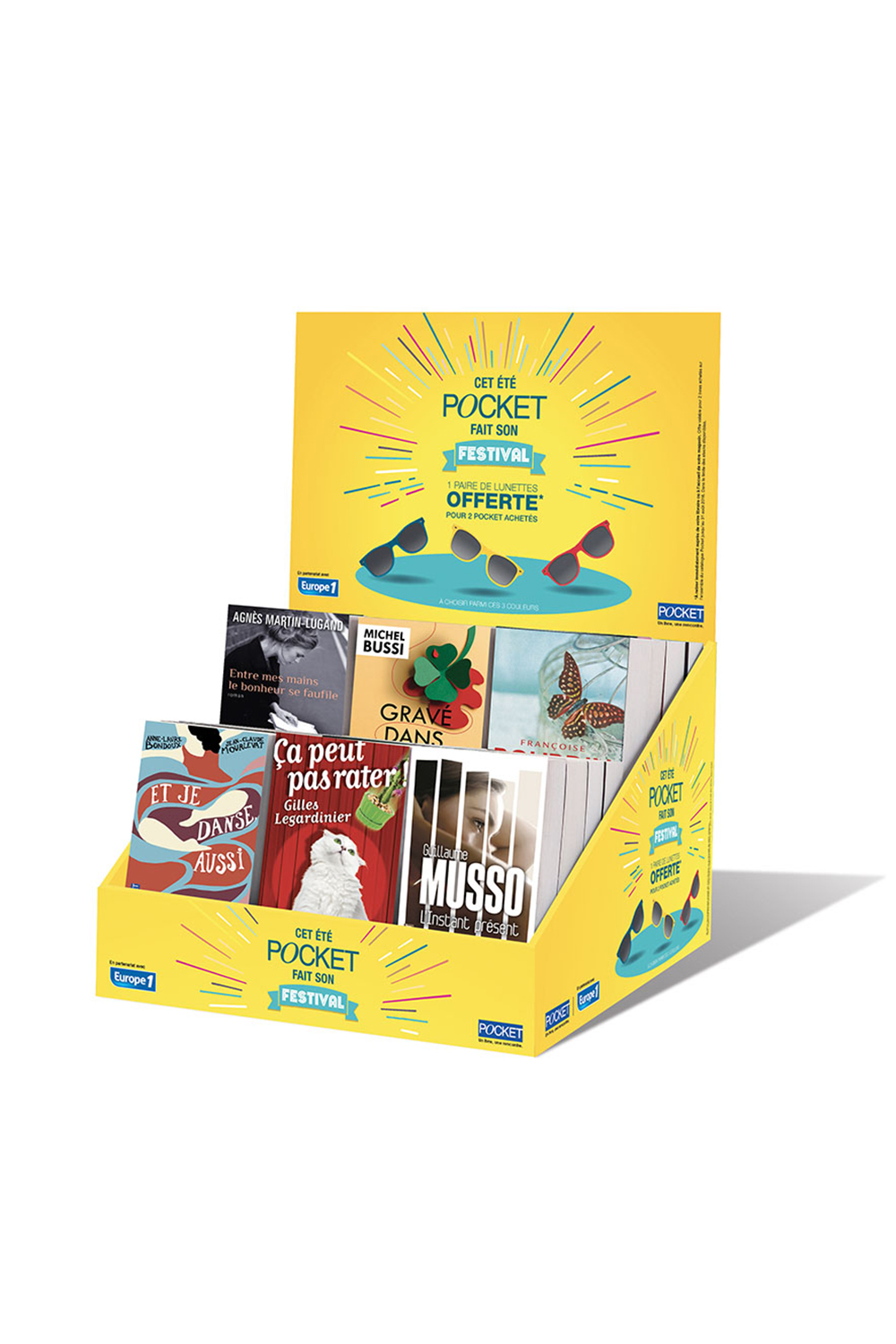 "Display 45 - ""Pocket fait son festival"" - éditions Pocket - 2016"