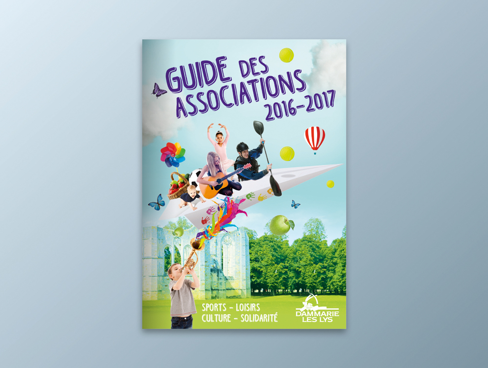 Guide des associations 2016 / 2017 - Ville de Dammarie-lès-Lys - Couverture