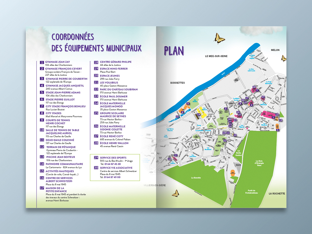 Guide des associations 2016 / 2017 - Ville de Dammarie-lès-Lys - Pages 4 et 5