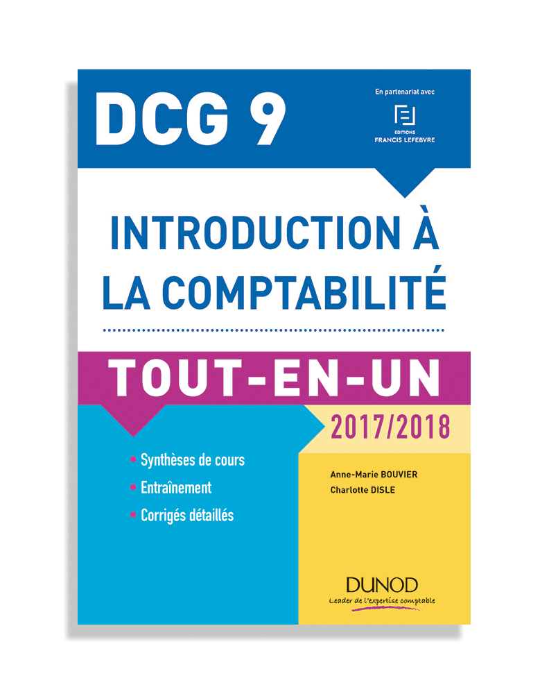 DCG 9 - Tout-en-un - Collection EXPERT SUP - éditions Dunod - 2017
